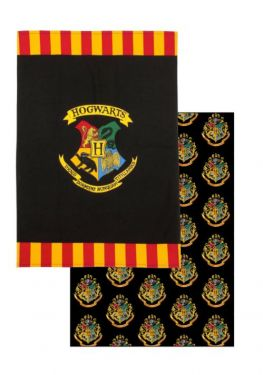 Harry Potter: School Spirit Hogwarts Tea Towel Twin Pack