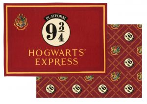 Harry Potter: From The Gift Shop Platform 9 3/4 Tea Towel Twin Pack Preorder