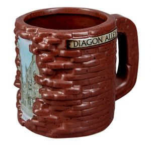 Harry Potter: Brick By Brick Diagon Alley Shaped Mug