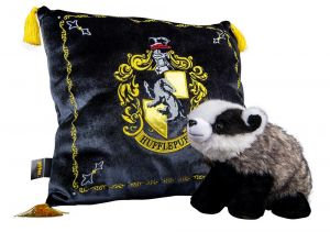 Harry Potter: Homely Hufflepuff House Mascot Plush & Cushion Set