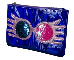 Harry Potter: Distinct Dottiness Luna Lovegood Cosmetics Pouch