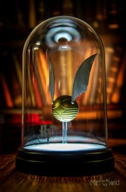 Harry Potter: Silence Is Golden Golden Snitch Light Preorder