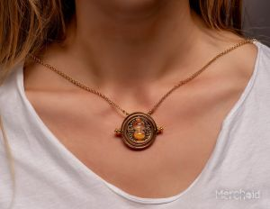 Harry Potter: Time After Time Spinning Time Turner Necklace