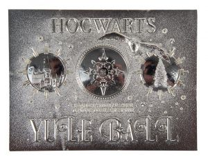 Harry Potter: Limited Edition .999 Silver Plated Yule Ball Ticket