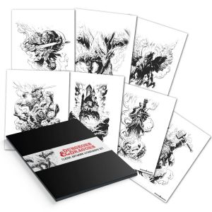 Dungeons & Dragons: Limited Edition Lithograph Set Preorder