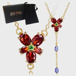 Harry Potter: Hermione's Red Crystal Necklace Replica