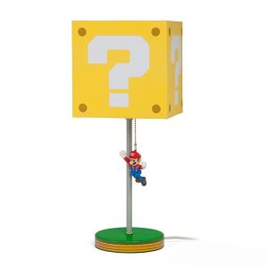 Super Mario: Chip Off The Old Block Question Block Lamp