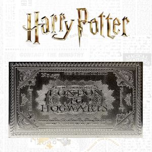 Harry Potter: Limited Edition .999 Silver Plated Hogwarts Train Ticket