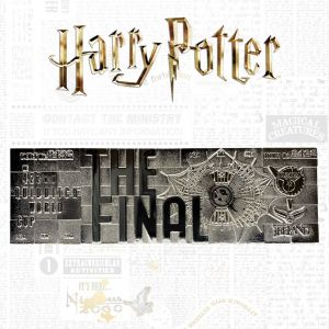 Harry Potter: Limited Edition .999 Silver Plated Quidditch World Cup Ticket