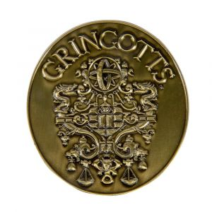 Harry Potter: Gringotts Bank Limited Edition Metal Medallion