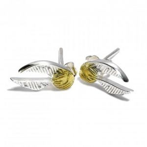 Harry Potter: Instant Win Sterling Silver Golden Snitch Earrings