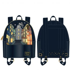 Harry Potter: Diagon Alley Loungefly Mini Backpack Preorder