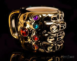 Avengers Endgame: 'Fine. I'll Pour It Myself' Thanos Infinity Gauntlet Mug