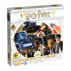 Harry Potter: Philosopher's Stone 500pc Round Puzzle