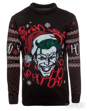 Batman: Jo Jo Jo-ker Christmas Knitted Sweater