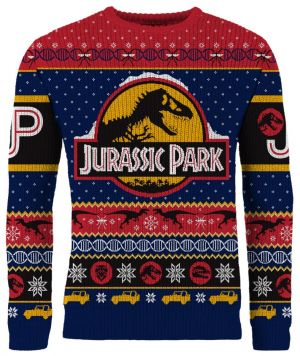 Jurassic Park: Christmas Uh...Finds A Way Knitted Christmas Sweater