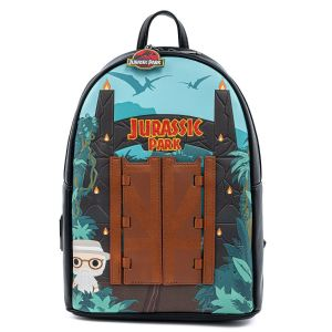 """Jurassic Park: """"You Can't Hold It By Yourself"""" Gates Pop By Loungefly Mini Backpack"""