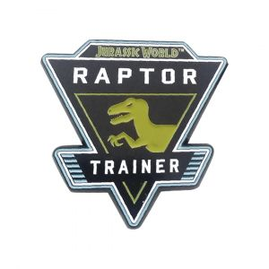 Jurassic World: Raptor Trainer Limited Edition Pin Badge