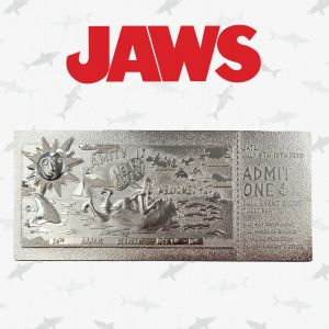 Jaws: Limited Edition .999 Silver Plated Amity Island 50th Annual Regatta Ticket