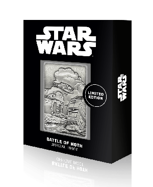 Star Wars: Battle Of Hoth Limited Edition Ingot