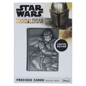 Star Wars: The Mandalorian Precious Cargo Limited Edition Metal Ingot Preorder