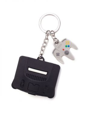 Nintendo: 64 Reasons Why N64 Keyring