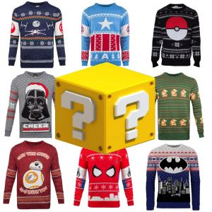 Merchoid Mystery Knitted Christmas Sweater