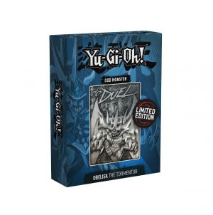 Yu-Gi-Oh!: Obelisk The Tormentor Limited Edition Metal God Card