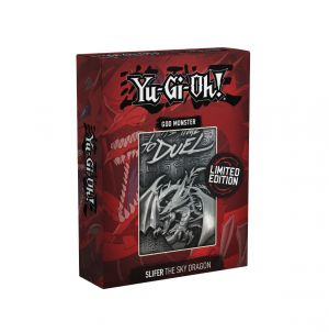 Yu-Gi-Oh!: Slifer The Sky Dragon Limited Edition Metal God Card