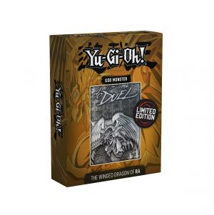 Yu-Gi-Oh!: Winged Dragon Of Ra Limited Edition Metal God Card