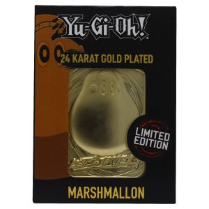 Yu-Gi-Oh!: Marshmallon Limited Edition 24K Gold Plated Metal Card Preorder