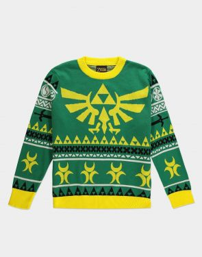 Legend Of Zelda: Hyrule Bright Knitted Christmas Sweater