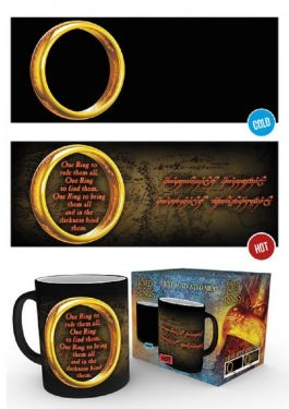 Lord of The Rings: One Ring Heat Change Mug