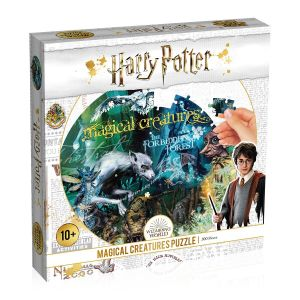 Harry Potter: Magical Creatures 500pc Round Puzzle