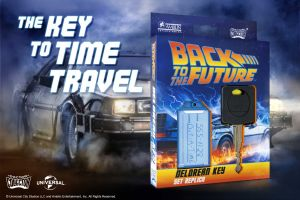 Back To The Future: Delorean Key Set Replica Preorder