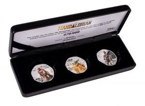 Star Wars: The Mandalorian Commemorative Limited Edition Coin Collection