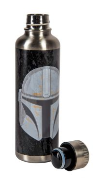 Star Wars: The Mandalorian Metal Water Bottle