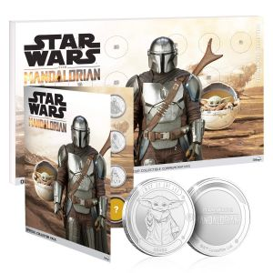 Star Wars: The Mandalorian Limited Edition Commemorative Coin Advent Calendar Preorder
