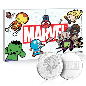 Marvel: Limited Edition Commemorative Coin Advent Calendar Preorder