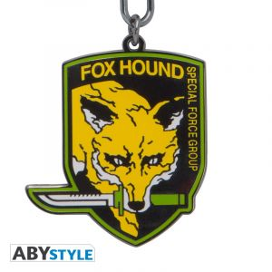 Metal Gear Solid: Foxhound Keychain