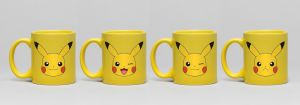 Pokemon: Pikachu Espresso Mug Set