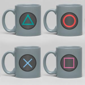 PlayStation: Buttons Espresso Mug Set