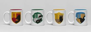 Harry Potter: House Pride Espresso Mug Set