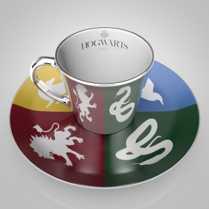 Harry Potter: Sorted Mirror Mug & Plate Set Preorder