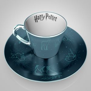Harry Potter: Patronus Mirror Mug & Plate Set Preorder