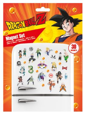 Dragon Ball Z: Fighters Magnet Set Preorder