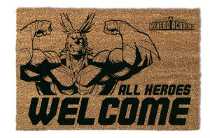 My Hero Academia: All Heroes Welcome Doormat