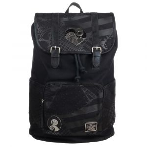 Nightmare Before Christmas: Mr Unlucky Metal Badge Backpack