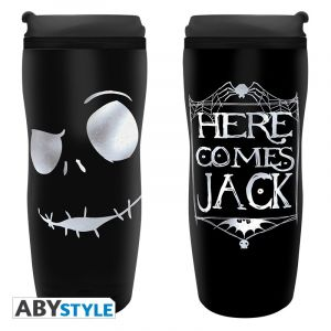 Nightmare Before Christmas: 'Here Comes Jack' Travel Mug