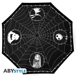 Nightmare Before Christmas: Walking In The Spider Web Umbrella
